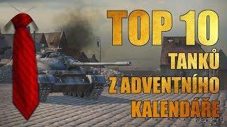 [World of Tanks] TOP 10 tanků z Adventního kalendáře 2017