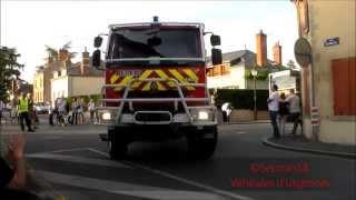 Défilé Congrès des Sapeurs Pompiers du Loiret 2014 / SDIS 45