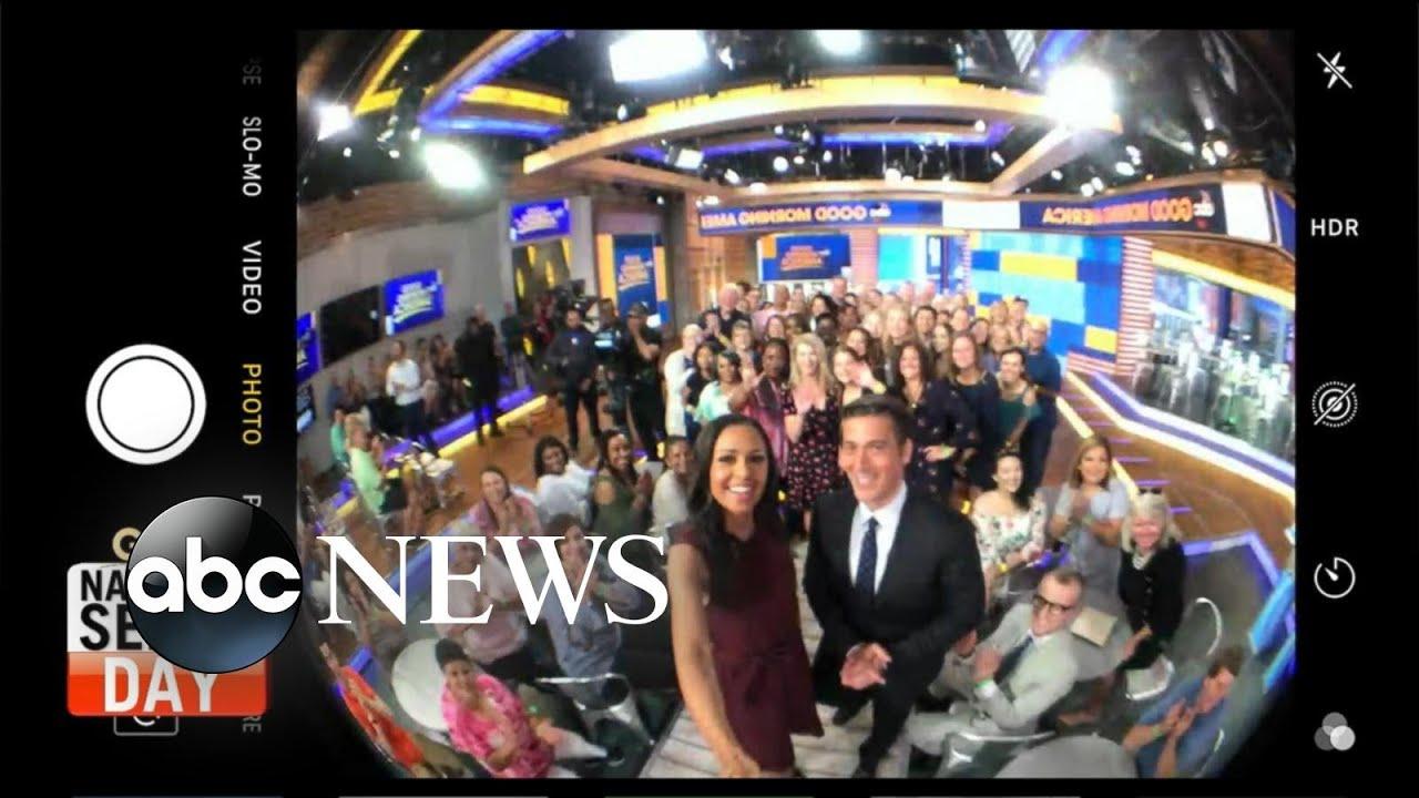 'GMA' celebrates National Selfie Day