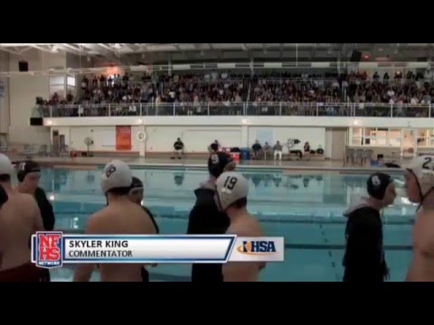 2014 IHSA Boys Water Polo Championship Game: Wilmette (Loyola Academy) vs. Oak Park (Fenwick)