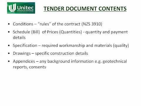 EM10b - Tender and Contarct Documents