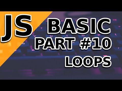 JavaScript Basic Tutorial | Loops | Part 10 thumbnail