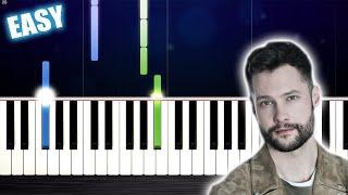 Baixar Calum Scott - Dancing On My Own - EASY Piano Tutorial by PlutaX