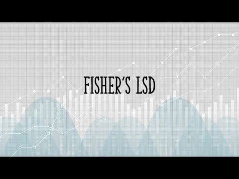 How To Calculate Fishers Least Significant Difference