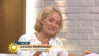 """Sommar i P1 - """"Vi försökte i 8 år med Ingmar Bergman"""" - Nyhetsmorgon (TV4)"""