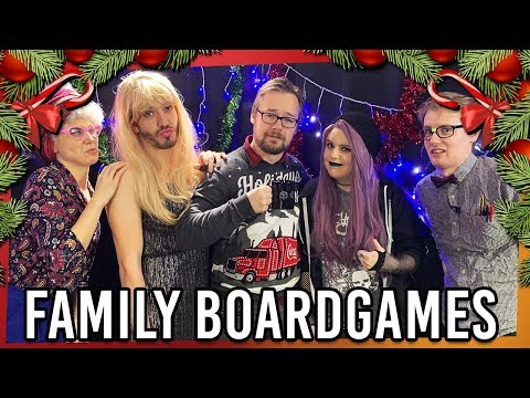 High Rollers: Xmas Special Family Boardgames!
