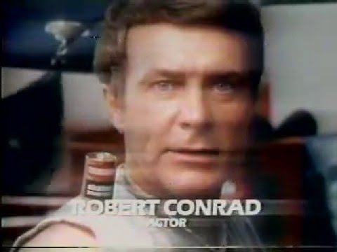 Robert Conrad 1977 Eveready Battery Commercial Youtube