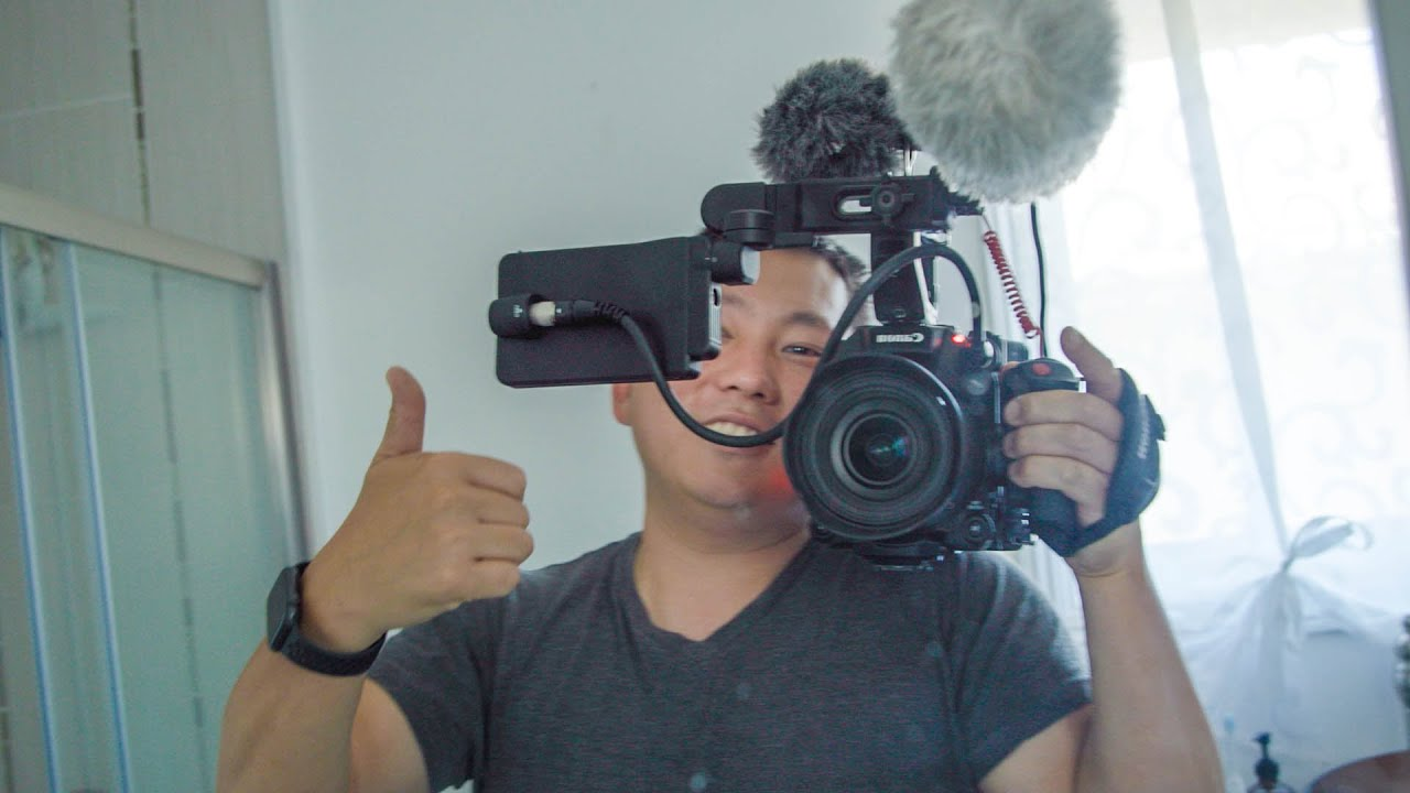 I Shot This Vlog on the new canon C300 Mk III
