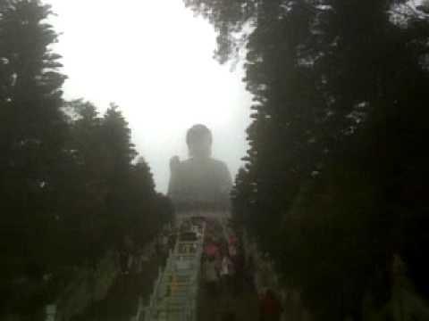 Lantau Island, HK 2011, Big Buddha, 20 sec foggy view