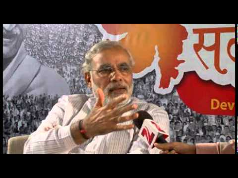 Narendra Modi's interview with Zee News