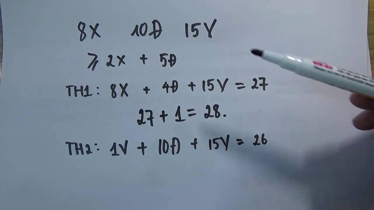 Toán nâng cao lớp 4 – 1001 bài toán tư duy lớp 4 (phần 4)