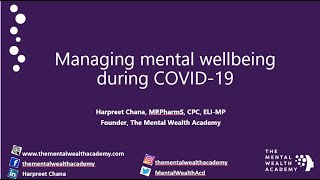 How to Look After Your Mental Well-being as a Healthcare Professional during COVID-19