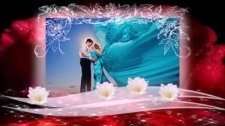 Красивое свадебное слайд шоу из фото