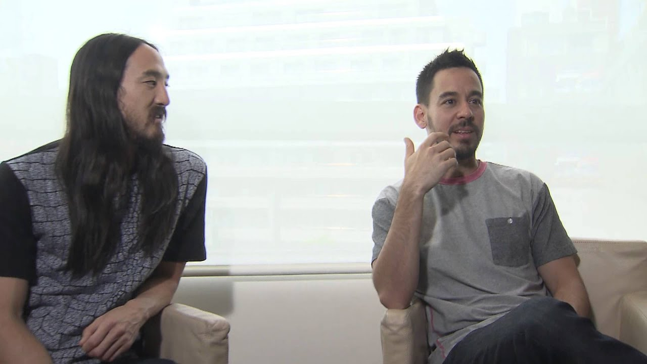 "Mike Shinoda & Steve Aoki Discuss ""A Light That Never Comes"""