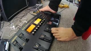 HDSD Boss GT-100 (Giới thiệu chức năng Manual Mode)