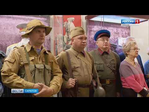 В музее краеведения состоялась презентация выставки наградного оружия