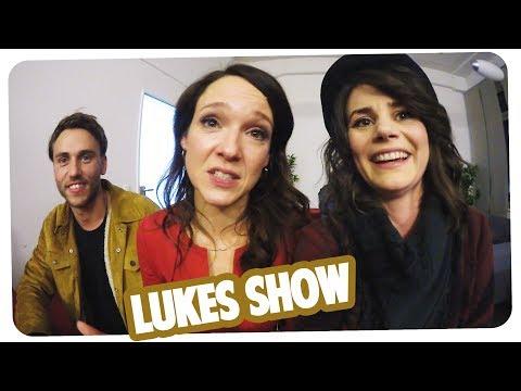 Clueso bringt Kebekus Insta bei | Backstage bei Lukes Show | Joyce