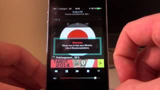Écouter la radio sur un iPhone
