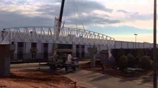 Pedestrian Bridge Construction And Installation - Gatorbridge®