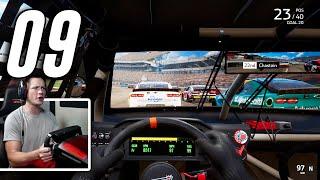 NASCAR Heat 5 - Part 9 - INSIDE COCKPIT VIEW *HARD*