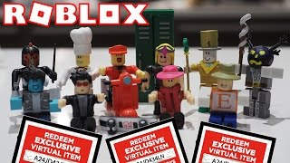 NEW ROBLOX TOYS + CODES!!!