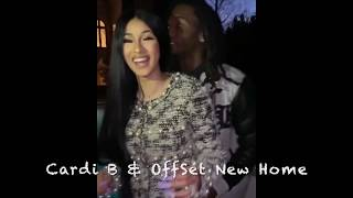 Cardi B and her husband OffSet share their new home #CardiB #Offset