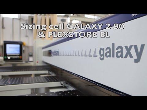 Gabbiani Galaxy 2 90 and Flexstore EL