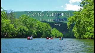 Canoe Camping Upper James River