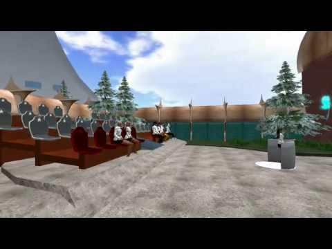 Tour of UFGQ on Majel in Second Life