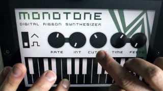 iPhone iPad Music App monotone delay