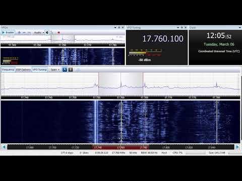 06 03 2018 MOI Radio Kuwait General Service in Arabic to SEAs 1203 on unscheduled 17760 Kabd Sulabay