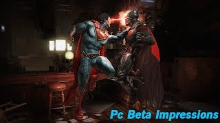 Injustice 2 PC Beta Impressions