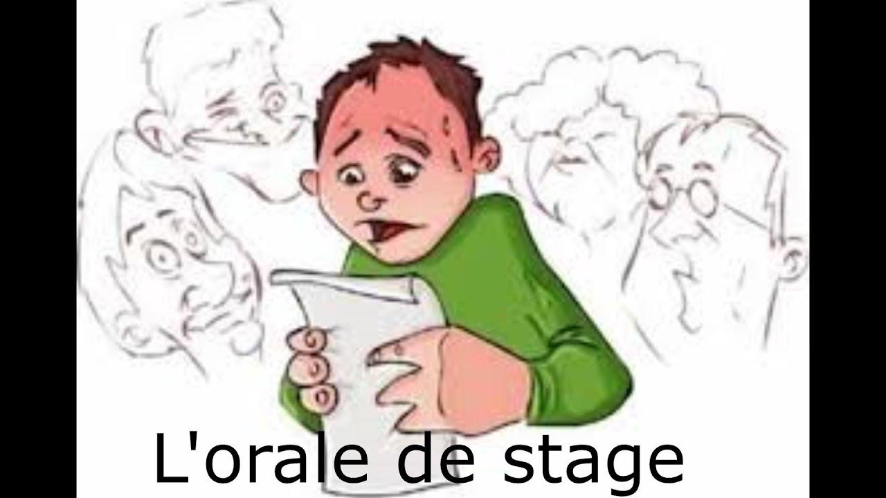 Comment bien réussir son oral de stage - YouTube