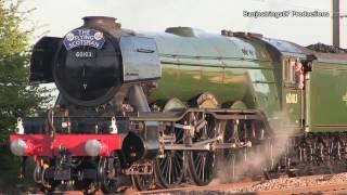 Four Trains Four Generations Near York 23042017