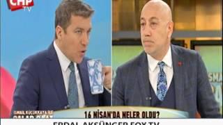 ERDAL AKSÜNGER FOX TV 26/04/2017