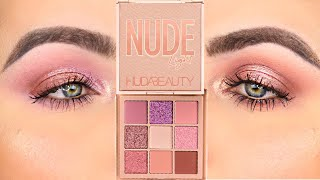2 Looks With the New Huda Beauty Nude Obsessions Light Palette! | Patty