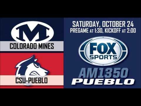 COLORADO MINES VS CSU-PUEBLO CONDENSED  RADIO BROADCAST