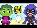 BABY LILY Dresses up as Teenage Superhero 💥 Children's Cartoons