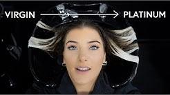 I Bleached My Virgin Hair Platinum Blonde | Tara O'Neill