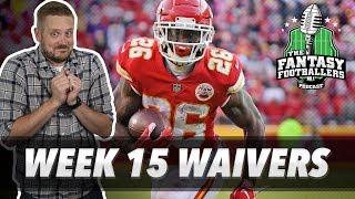 Fantasy Football 2018 - Week 15 Waivers & QB Streamers, Kenneth Dinker - Ep. #667