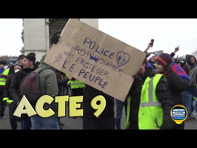 Gilets Jaunes: Acte 9