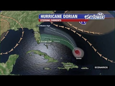 Tropical Weather Forecast & Dorian Update: August 29, 2019