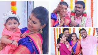 Serial Actress Sridevi Ashok house Warming Fn With Alya Family and Other Artists