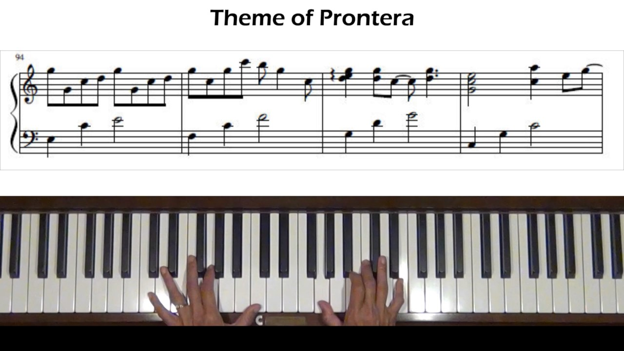 Theme of Prontera (Ragnarok Online OST) Piano Tutorial