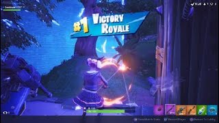 Winning the solo match with the Lace skin | Fortnite
