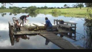 Time Lapse Floating Dock Build