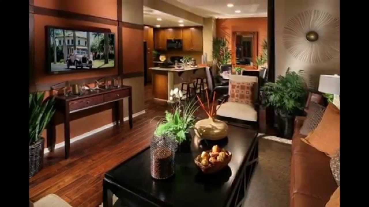 Interior Decorating Paint Ideas Part - 49: Tuscan Family Room Ideas Photos With Interior Decorating Style Paint Colors  And Furniture - YouTube