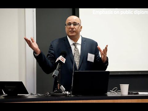 Ido Aharoni Opening Remarks | The Rise of New Diplomacy
