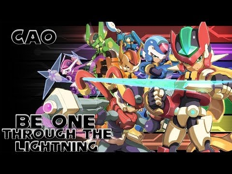 Megaman ZXA - Be One/Through The Lightning by CAO (Mashup/Remix) [KARAOKE VIDEO]