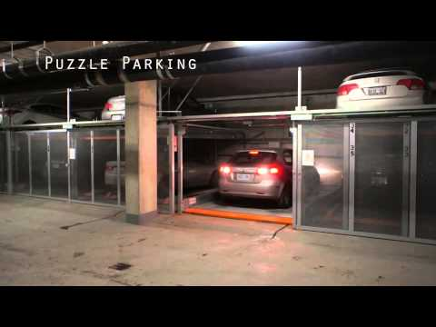 Puzzle Parking System at Qatar By Al Manara Smart Parking